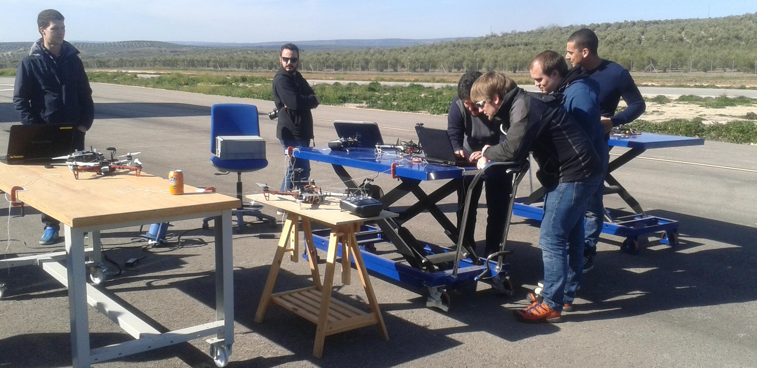 Investigadores y expertos del proyecto europeo MARINE-UAS participan en un seminario tecnológico celebrado en el Centro ATLAS