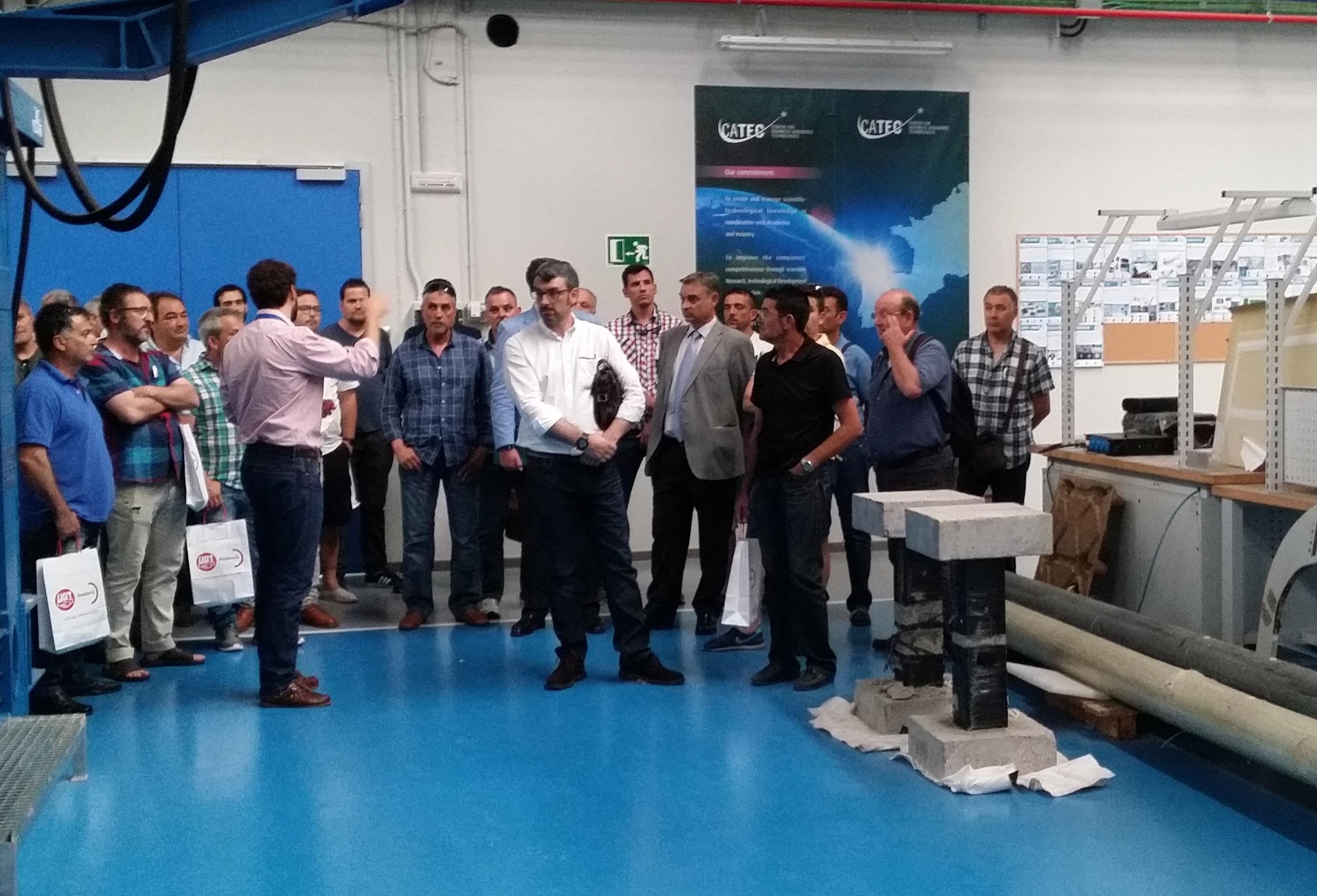CATEC presenta sus tecnologías para la Factoría del Futuro ante empresas y entidades españolas y alemanas del sector del metal