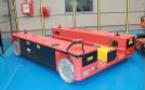 Plataforma omnidireccional de última generación para aplicaciones móviles de transporte de grandes cargas