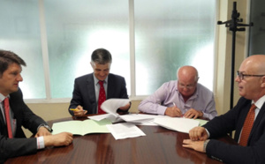 FADA-CATEC y ASAJA Jaén firman un acuerdo para promover la agricultura de precisión con vuelos no tripulados