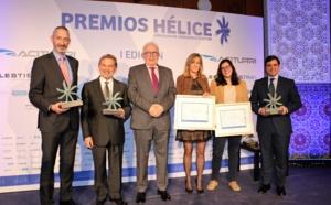 CATEC recibe el premio de la I Edición de los Premios HÉLICE por su liderazgo en la innovación del clúster aeroespacial andaluz