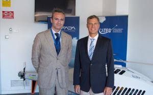 Alan Krueger, asesor del ex presidente Obama, visita las instalaciones de nuestro Centro y se interesa por sus capacidades tecnológicas
