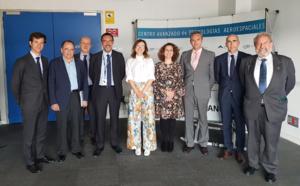 Pilar Serrano, nueva presidenta de la Fundación Andaluza para el Desarrollo Aeroespacial