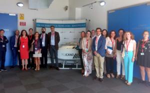 El Grupo Sectorial de Aeronáutica, Espacio y Tecnologías Duales de la Enterprise Europe Network visita las instalaciones de CATEC