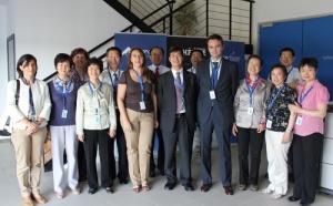 CATEC muestras sus instalaciones y capacidades tecnológicas a una delegación de profesores de la Escuela Central de China