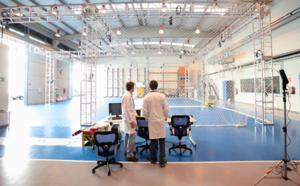 Test bed o zona de pruebas de interiores para sistemas no tripulados aéreos y terrestres