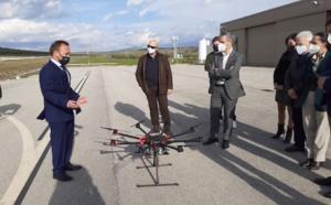 El consejero de Hacienda, Juan Bravo, visita las instalaciones del Centro ATLAS