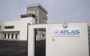El Centro ATLAS acoge un simulacro para probar la red 5G en el rescate de personas usando drones